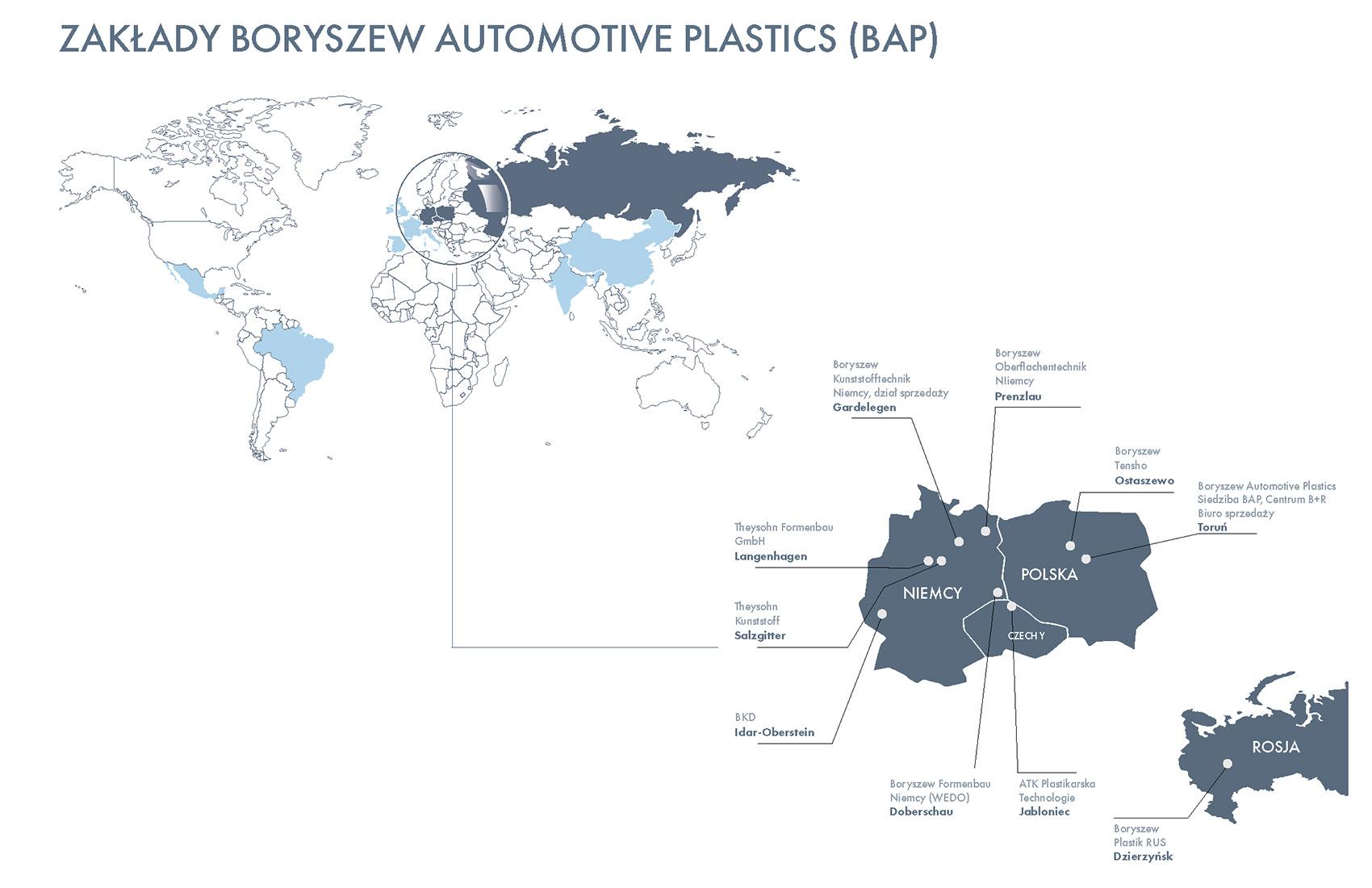 15 ZAKŁADY BORYSZEW AUTOMOTIVE PLASTICS (BAP)