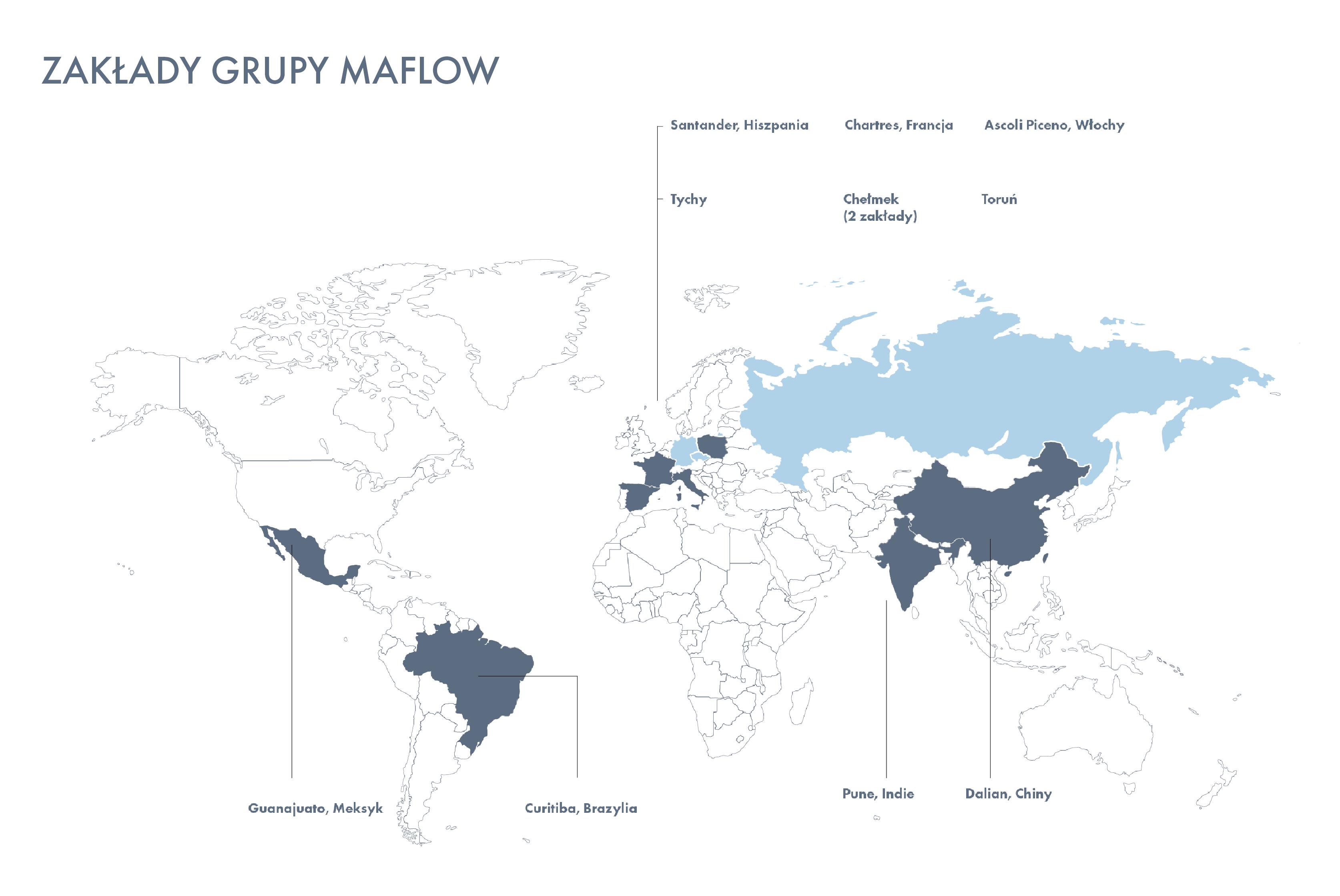 mapa maflow świat