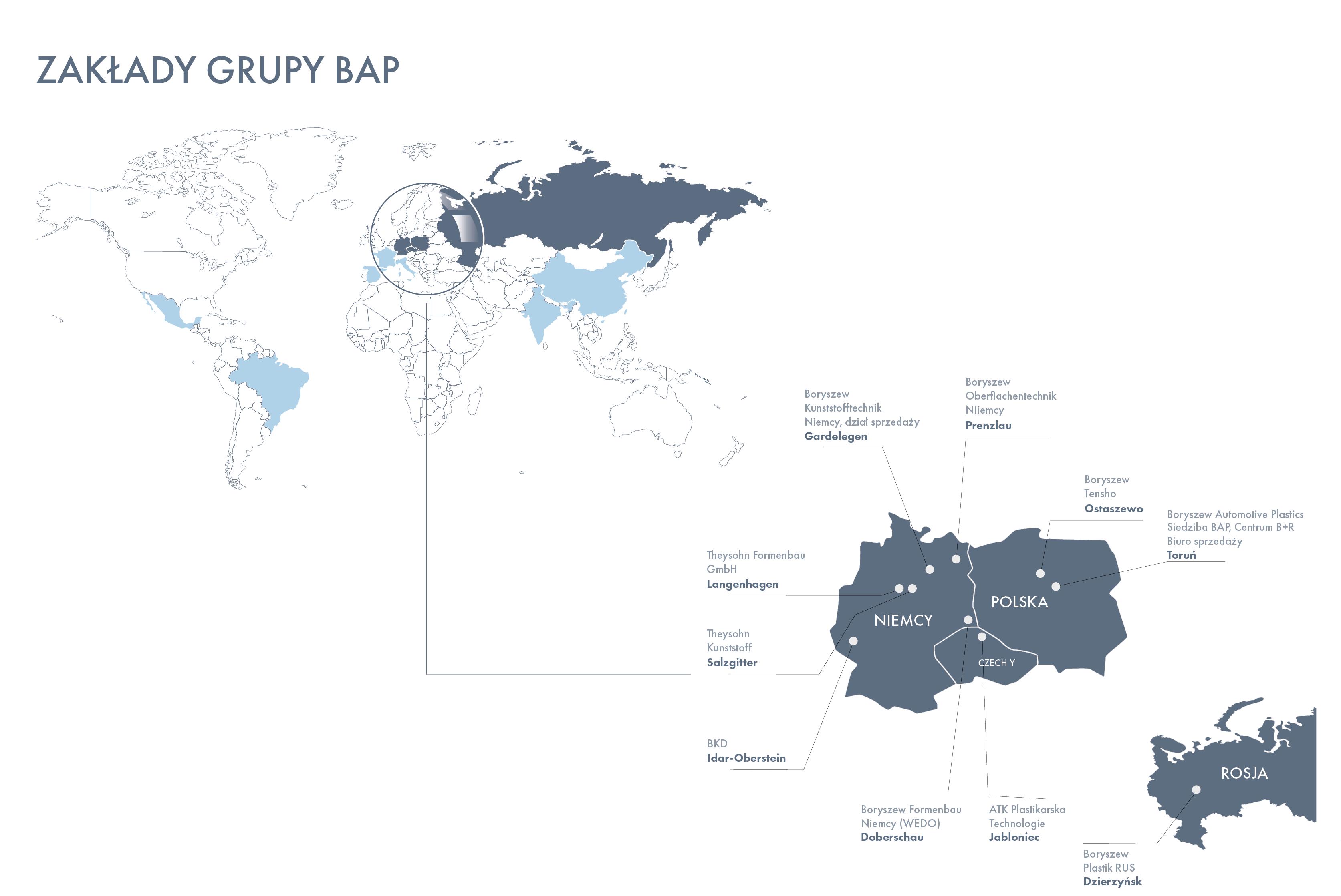 mapa motoryzacja świat